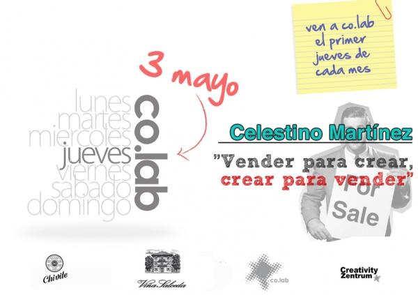 """Próxima ponencia: """"Vender para crear, crear para vender"""""""