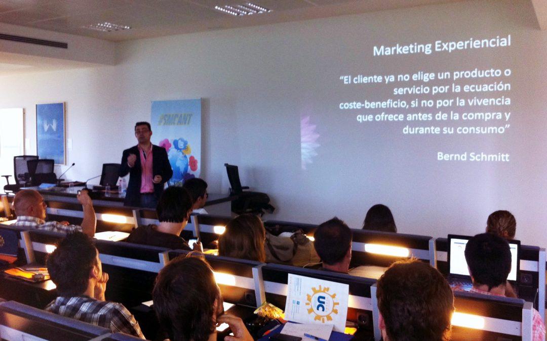 """Comentario ponencia: """"Marketing Experiencial y Redes Sociales"""""""
