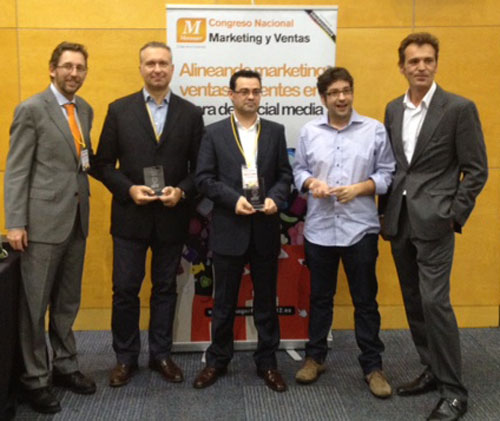 Entrega de los Premios de la Blogosfera del Marketing 2012