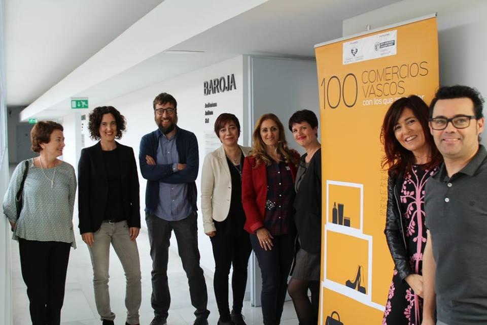 Presentación de 100 comercios vascos en UPV